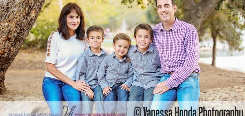Beautiful Family at Irvine Regional Park {Orange County Family Portrait Photographer}