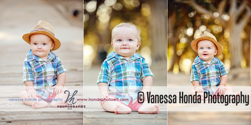 baby boy portraits at Tewinkle Park Costa Mesa