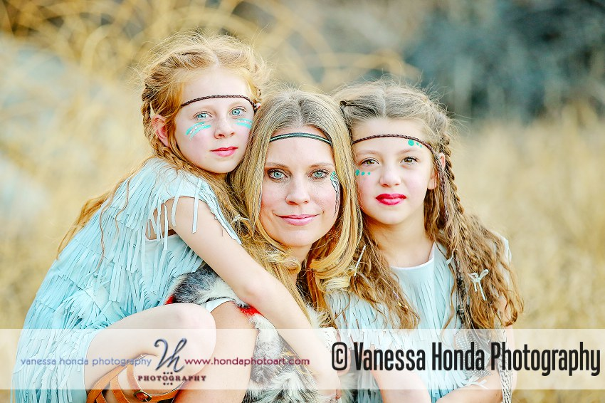 mom and daughters Styled Shoot Orange County Photographer