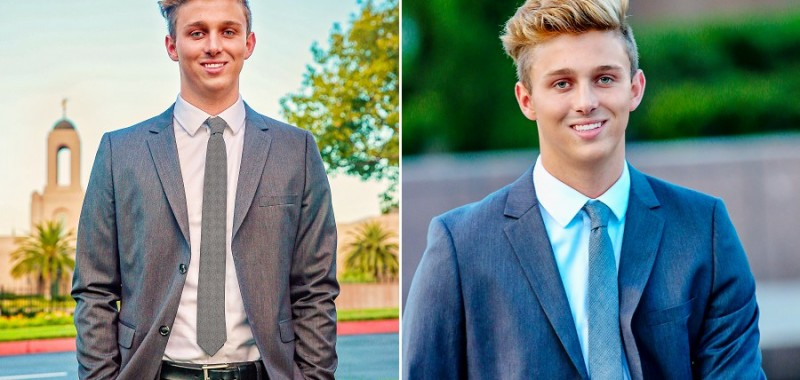 I hope they call me on a mission...{Newport Beach LDS Missionary Portraits}