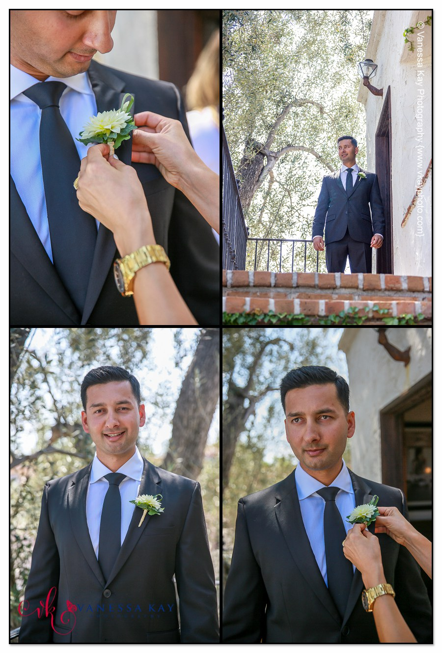 Getting Ready at Villa San Juan Capistrano Singh Wedding 5