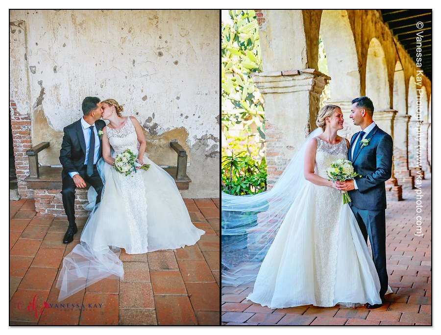 Orange County Wedding Couple and Bridal Party 13