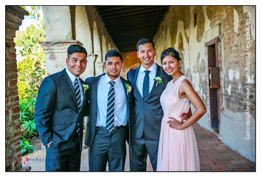 Orange County Wedding Couple and Bridal Party 14
