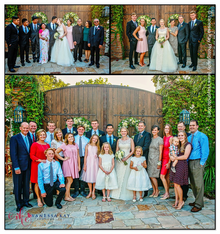 Orange County Wedding Couple and Bridal Party 17