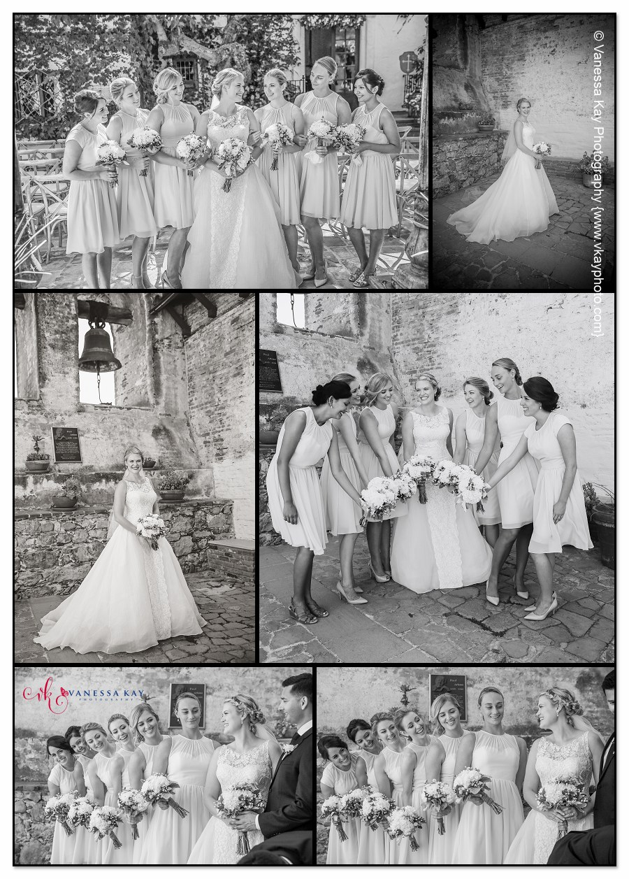Orange County Wedding Couple and Bridal Party 3