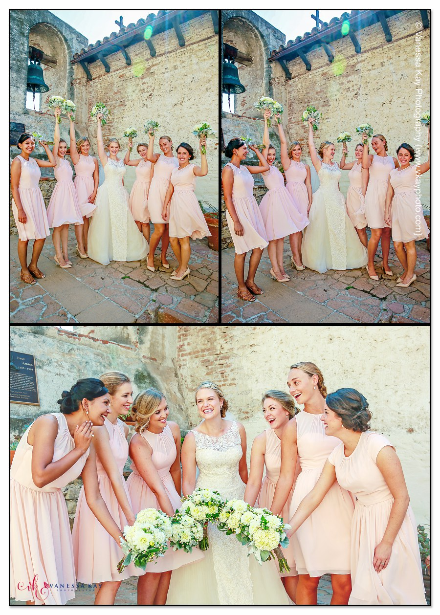 Orange County Wedding Couple and Bridal Party 6