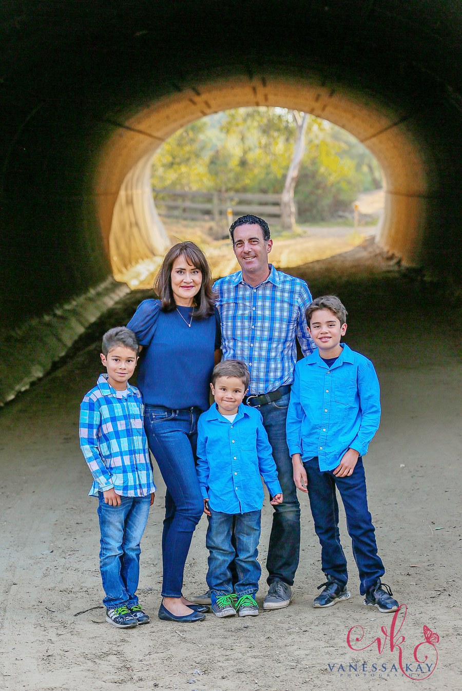 Laguna Hills Rustic Family Portraits 8