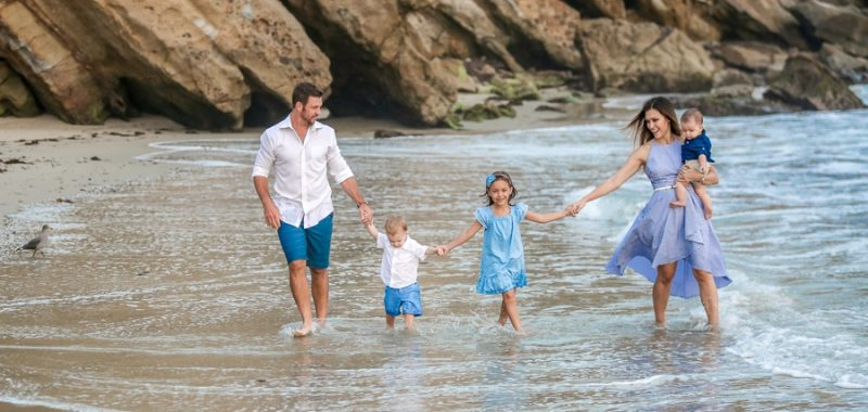 Welcome Back to Cali Carter Family! {Orange County Family Portraits at Wood's Cove}