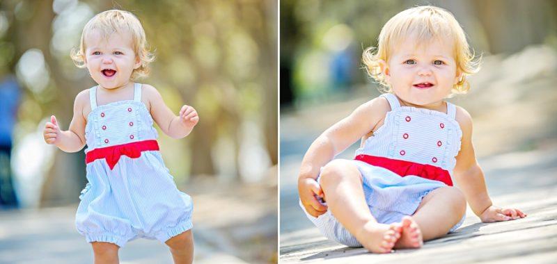 Callie Turns 1 {Orange County Baby 1st Year Portraits}
