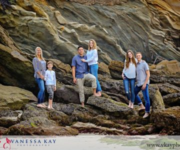 Family Time in Laguna Beach {Wood's Cove Family Portraits}