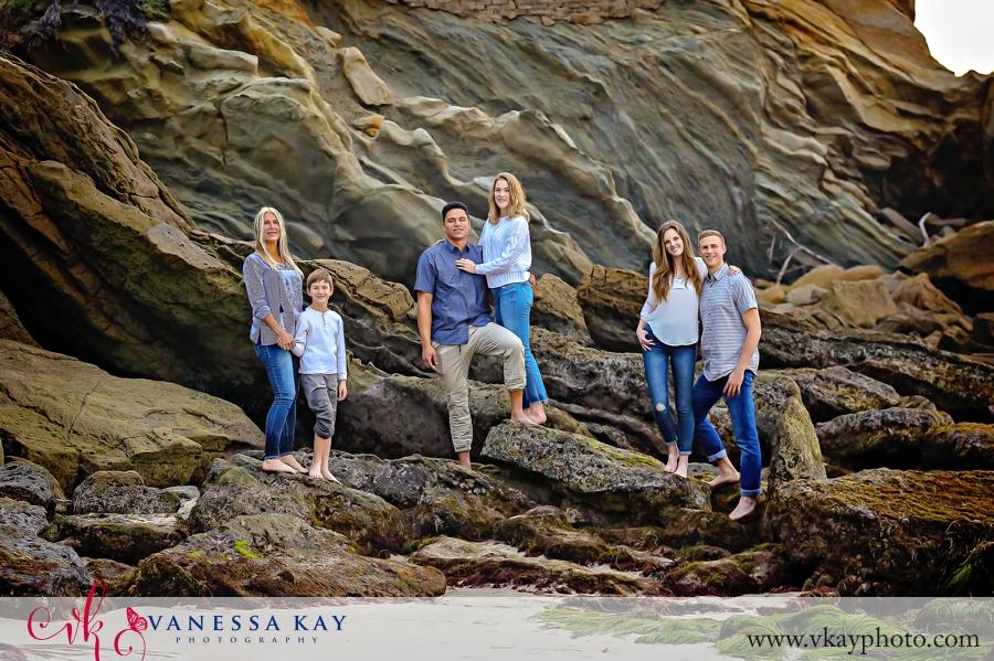 Laguna Beach Family Portraits at Wood's Cove 10