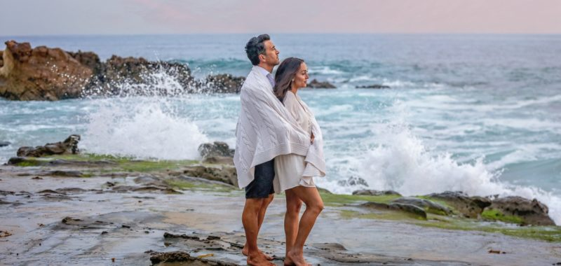 A family in the making {Beautiful family & Engagement portraits in Laguna Beach}