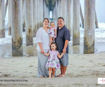 Family Fun at the Huntington Beach Pier {Huntington Beach Family Portraits}