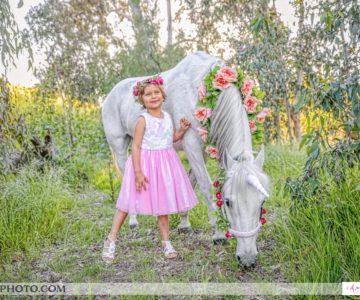 A little girl's dream come true {Orange County Children's Portraits}