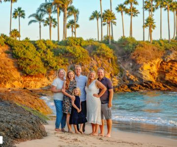 Family Fun at Crescent Bay {Laguna Beach Siblings Portraits}